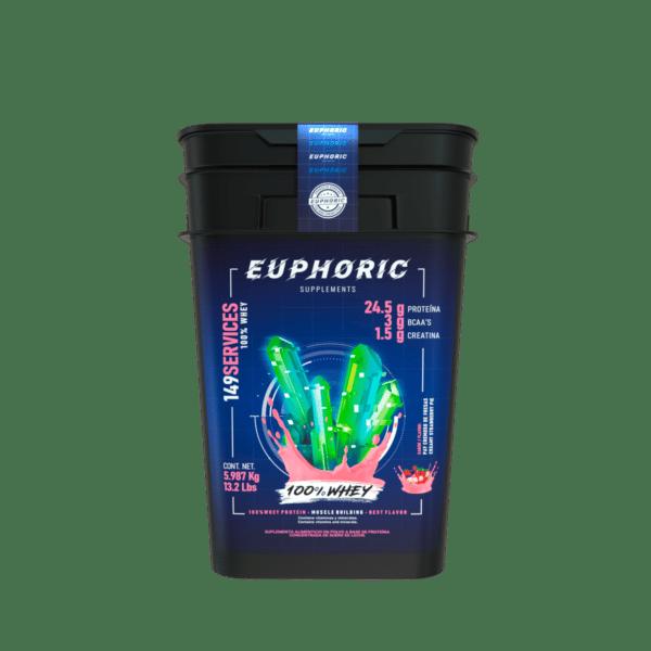 100% Whey Pay Cremoso de Fresas-Euphoric-Nucleus